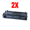 Bundle 2X Toner HP 2612/FX10