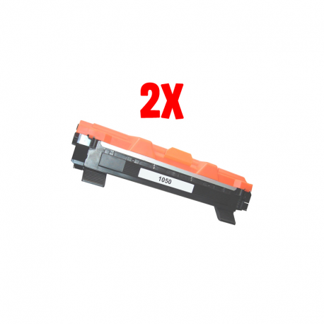 Bundle 2X Toner Brother TN 1050 (TN1050)