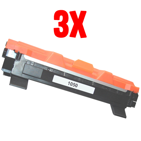 Bundle 3X Toner Brother TN 1050 (TN1050)